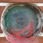 NGS Tidal Bench Mark Disk 872 4580 TIDAL 25