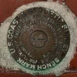 NGS Tidal Bench Mark Disk 872 4580 TIDAL 26