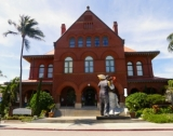 The building is now the Key West Museum of Art & History (at the Custom House).
