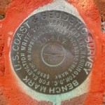 NGS Tidal Bench Mark Disk 872 4580 TIDAL 30