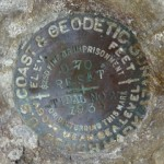 NGS Tidal Bench Mark Disk D 70 RESET 1936