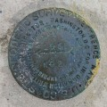 NGS Reference Mark Disk WEST BAHIA RM 2