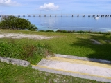 Looking N toward the new Bahia Honda bridge.