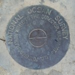 National Ocean Service Tidal Bench Mark Disk 872 3868 TIDAL 3