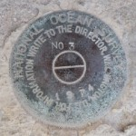 NOS Tidal Bench Mark Disk 872 4557 TIDAL 3