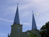 NGS Landmark/Intersection Station KEY WEST CATHOLIC CH SW SPIRE