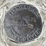Florida DOT Survey Mark PNC-03