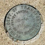 PennDOT Survey Control Mark 00-63-3034-5