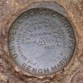 USGS Bench Mark Disk TT 16 T