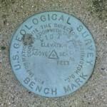 USGS Transit Traverse Station Disk TT 19 T