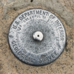 USGS Bench Mark Disk 6288.176 FT. RESET
