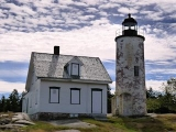 NGS Landmark/Intersection Station BAKER ISLAND LIGHTHOUSE 1861