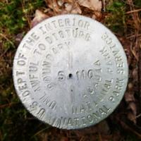 NPS Boundary Marker S 110