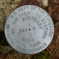 NPS Boundary Marker S 114