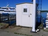 Bolt is adjacent to NOAA tide gauge station.