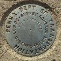 PennDOT Survey Control Mark 95-65-0092-1