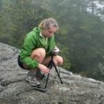 Zhanna documenting FERNALD HILL