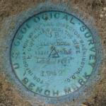 USGS Bench Mark Disk 5 B (actually 3 B)