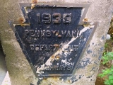 PDH bridge plaque from 1938