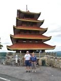 Mom and Dad at the Pagoda
