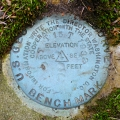 USGS Bench Mark Disk TT 15 T