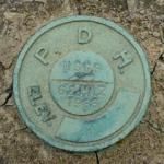 USGS Bench Mark Disk 62 HLZ
