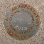 PennDOT Survey Control Mark DRM 070