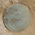 NGS Reference Mark Disk WYALUSING RM 1