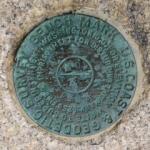 NGS Tidal Bench Mark Disk 841 0140 TIDAL 3
