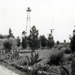 The beacon tower in 1943.