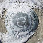 Florida DNR Tidal Bench Mark Disk 872 4332 H TIDAL