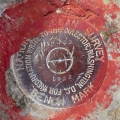 Florida DNR Tidal Bench Mark Disk 872 3872 D TIDAL