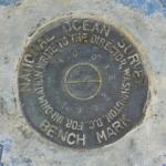 Florida DNR Tidal Bench Mark Disk 872 4008 E TIDAL