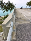Looking west-southwest along the new Seven Mile Bridge.