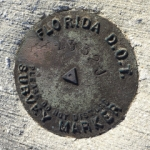 Florida DOT Bench Mark Disk 872 4332 J TIDAL