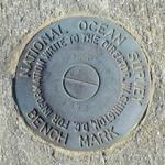 Florida DNR Tidal Bench Mark Disk 872 3706 F TIDAL