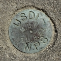 National Park Service Survey Disk 1 MLW 8.31