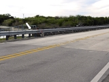 Looking SW across the Tamiami Trail toward the mark.