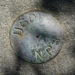 National Park Service Survey Disk MLW 7.15