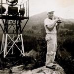 Victor Hays on Beacon Rock