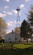 The beacon's original location, in happier days