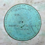 NGS Traverse Station Disk PTS S READING BUR OF WTR 1942