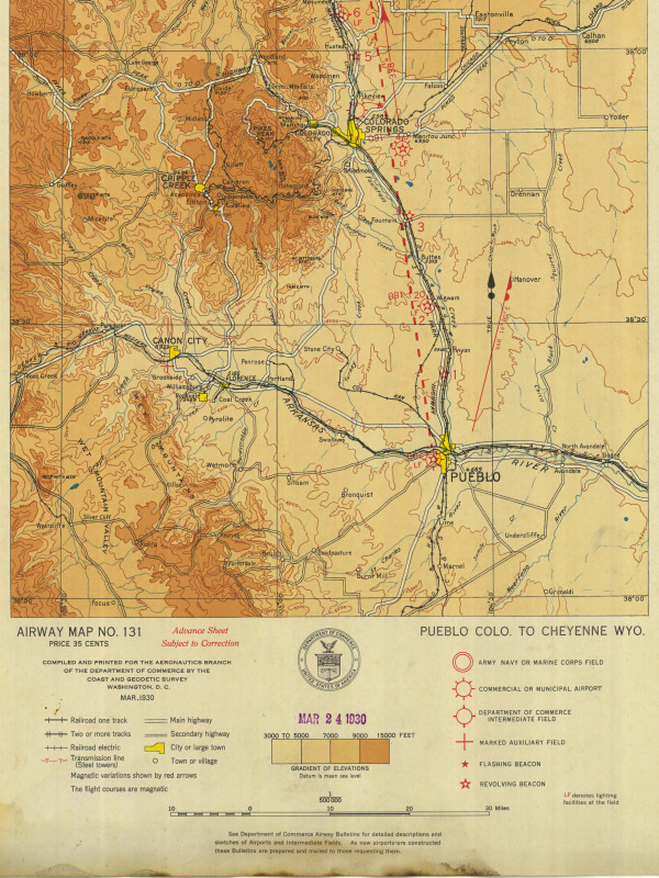 Gaps on the Map: Pueblo, Colorado to Cheyenne, Wyoming ...
