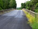 This neat old bridge has seen better days.