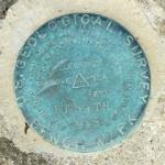 USGS Bench Mark Disk TT 69 TH