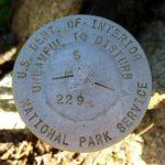 National Park Service Boundary Monument S 229