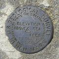 USGS Transit Traverse Station Disk TT 36 EFB