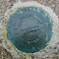 Army Corps of Engineers Survey Mark BASS