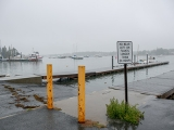 Looking NE toward the boat ramp