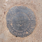 NGS Bench Mark Disk H 308